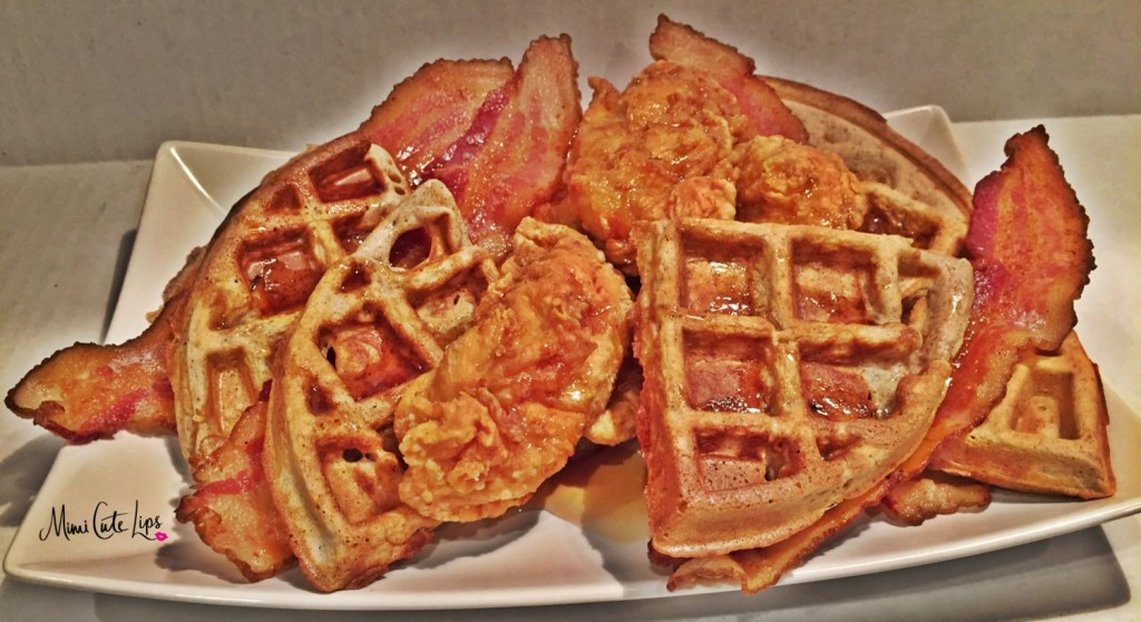 chicken bacon & waffles 2
