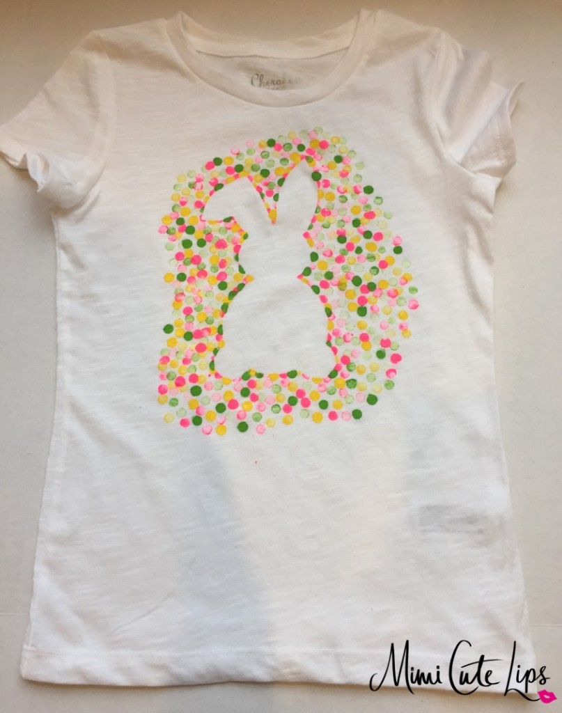 diy easter bunny shirt 6