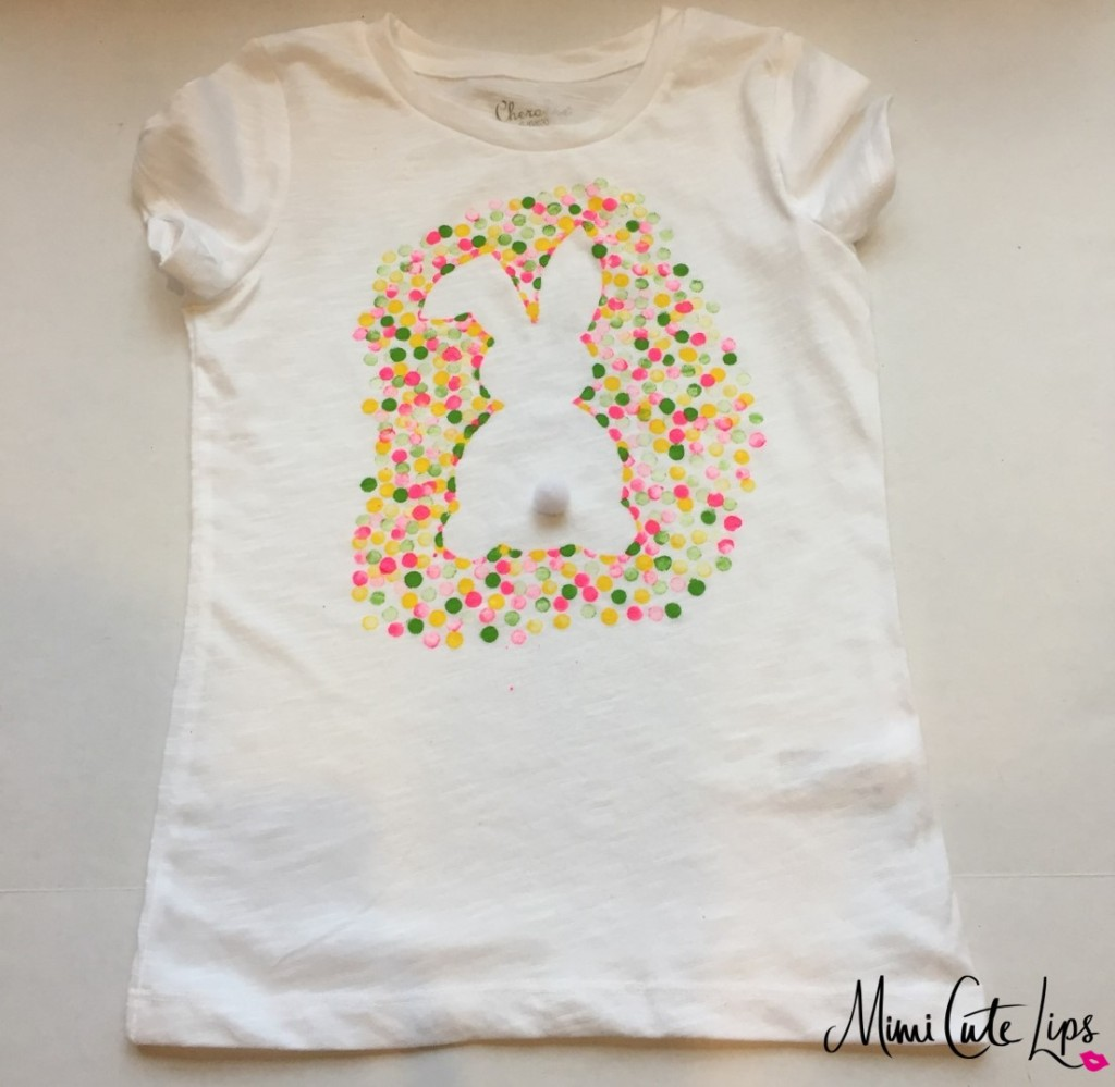 diy easter bunny shirt 7