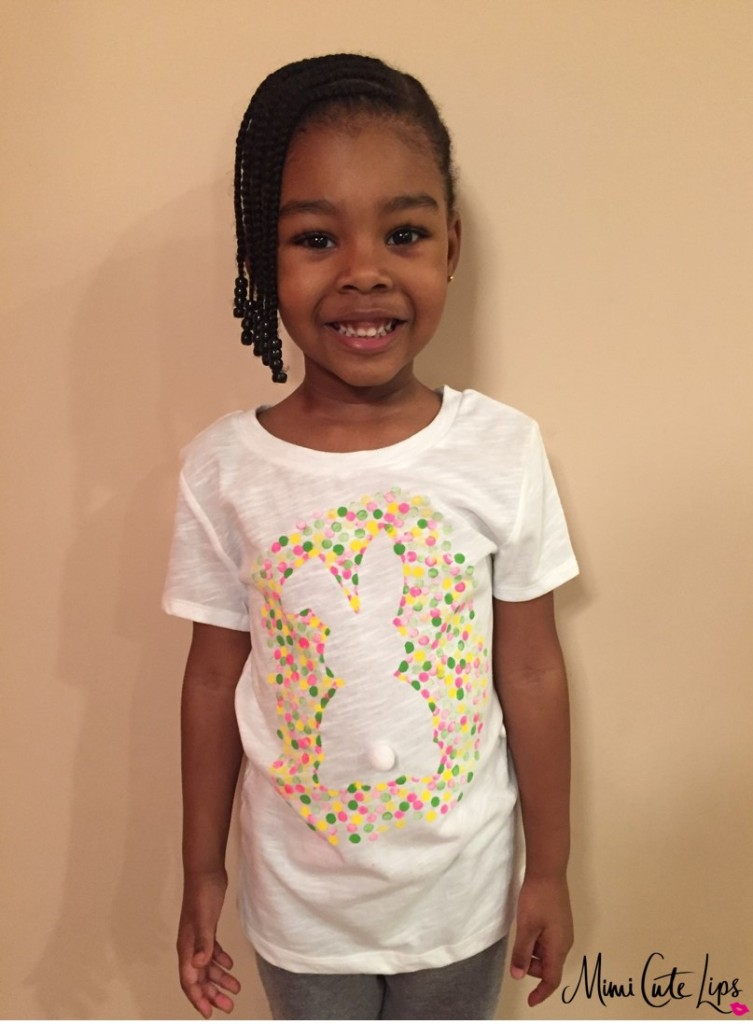 diy easter bunny shirt 8