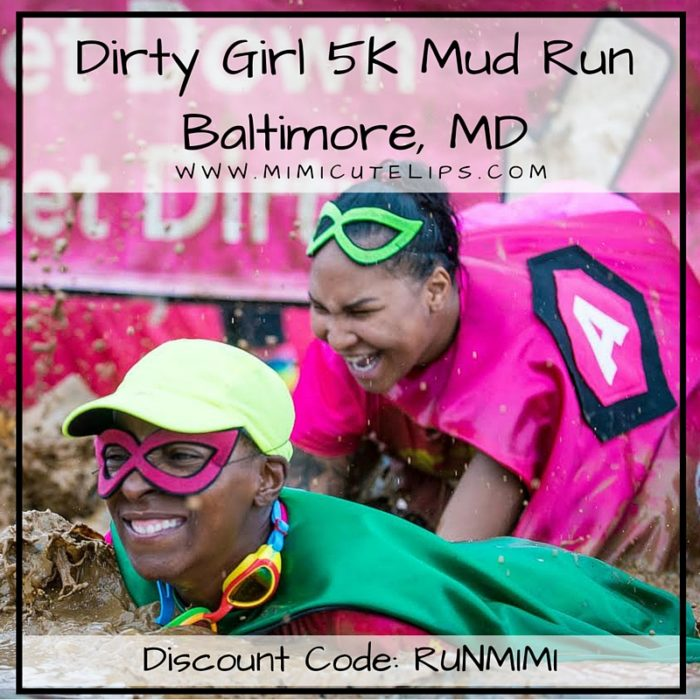 Dirty Girl 5K Mud Run, Baltimore, MD Discount Code- RUNMIMI