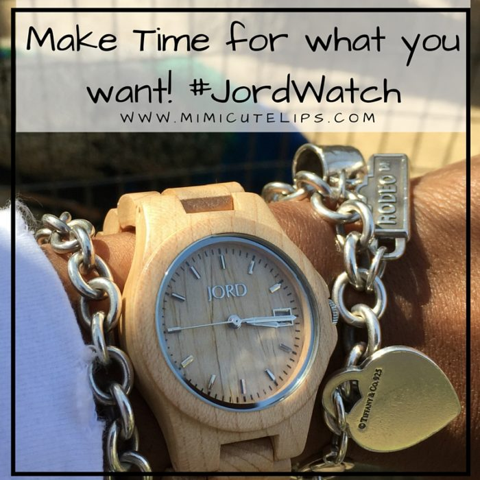 Make Time for what you want! #JordWatch wood watch