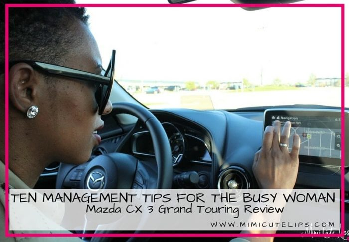 Ten Management Tips for the Busy Woman