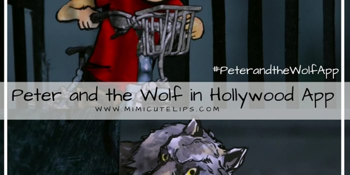 Peter and the Wolf in Hollywood App Review #PeterandtheWolfApp