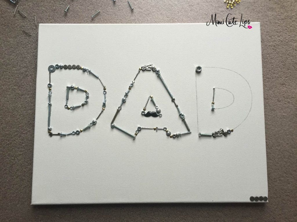 DIY Father's Day Canvas 5 DIY Father's Day Gift