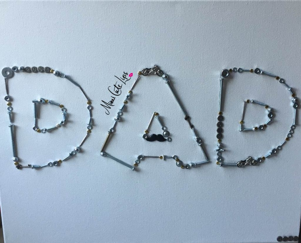 DIY Father's Day Canvas 9 DIY Father's Day Gift