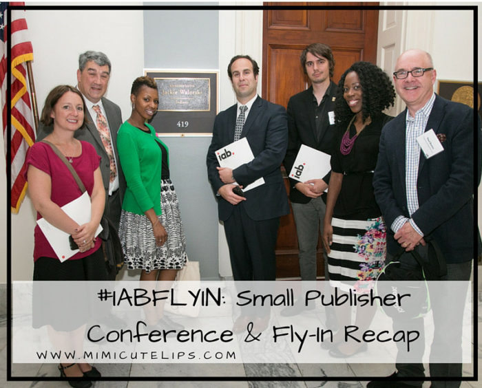 #IABFLYIN- Small Publisher Conference & Fly-In Recap