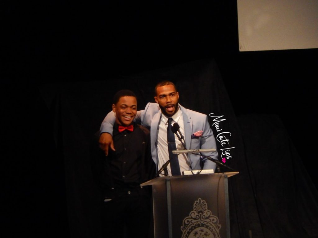 Richard Wright Gala Omari Hardwick aka Ghost - Michael Rainey Jr.