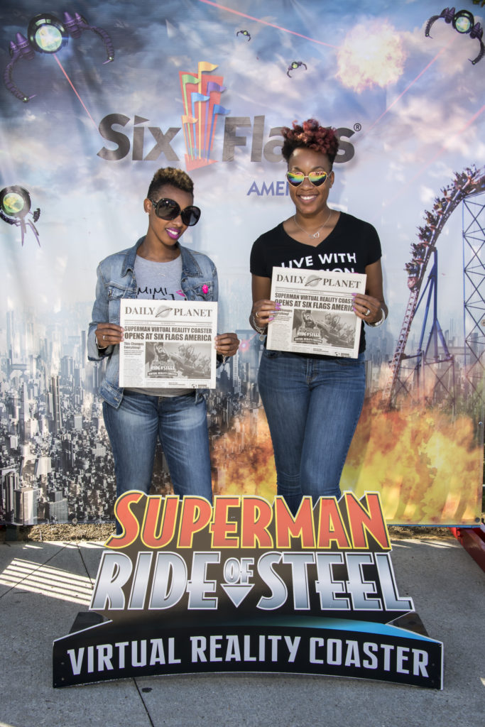SUPERMAN Ride of Steel Virtual Reality Coaster 21