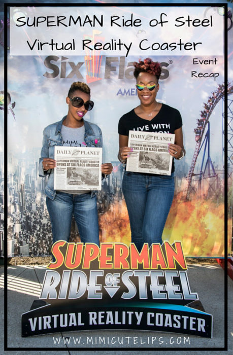 SUPERMAN Ride of Steel Virtual Reality Coaster Media Event Recap