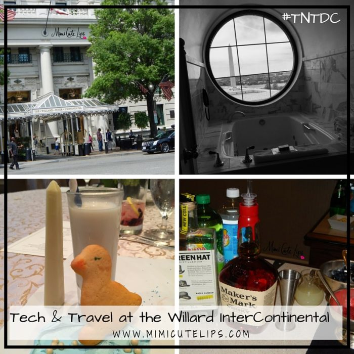 Tech & Travel at the Willard InterContinental #TNTDC