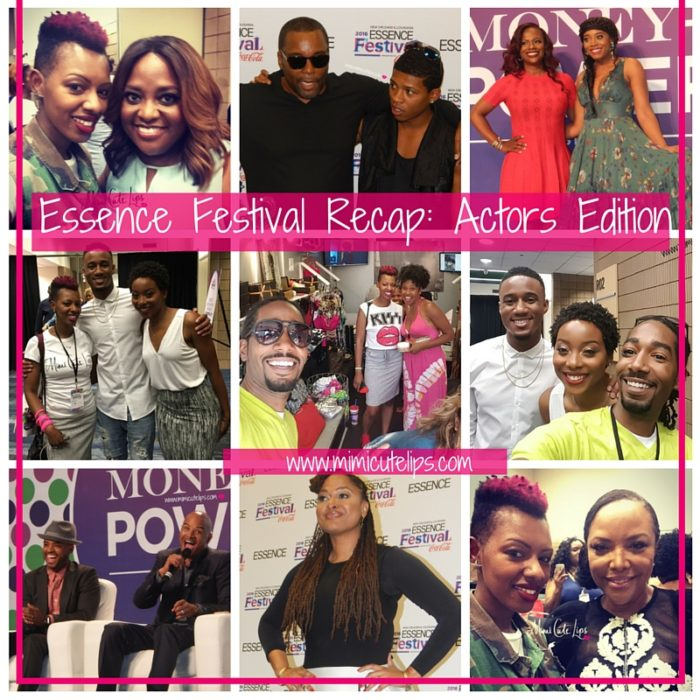 Essence Festival Recap- Actors Edition