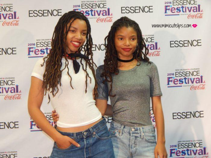 Essence Festival Recap Chloe & Halle