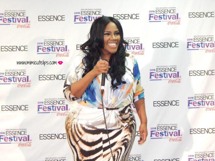 Essence Festival Recap Kelly Price