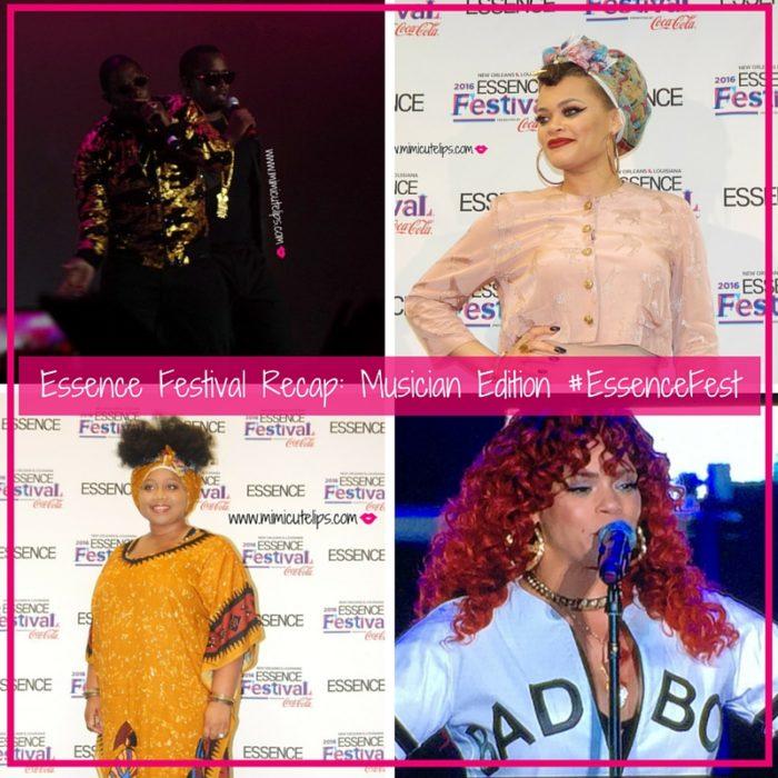 Essence Festival Recap- Musician Edition #EssenceFest