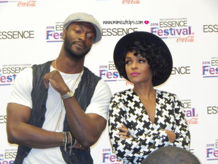 New Orleans Essence Festival 2016 Aldis Hodge Janelle Monae