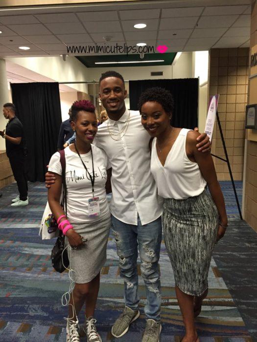 New Orleans Essence Festival 2016 Jessie T. Usher Erica Ash