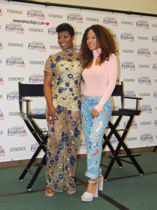 New Orleans Essence Festival 2016 Ta'Rhonda Jones Serayah