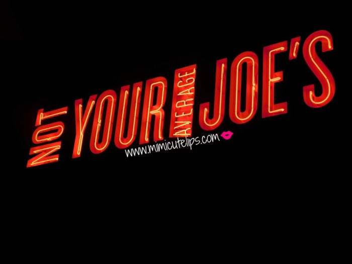 Not Your Average Joe's Silver Spring