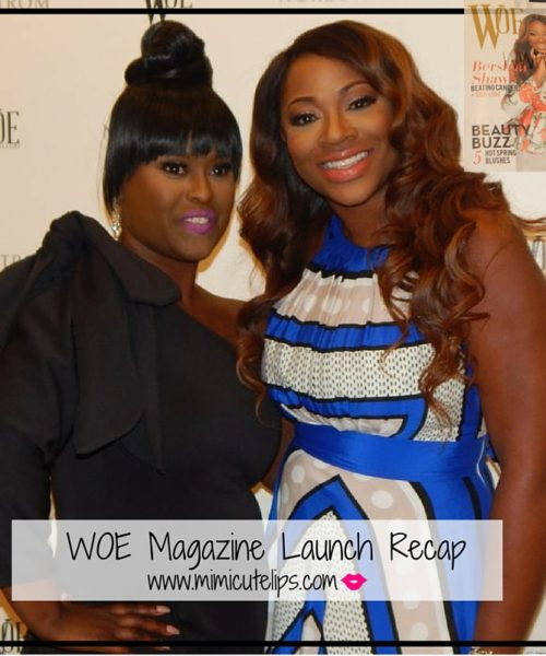 WOE MAGAZINE LAUNCH RECAP
