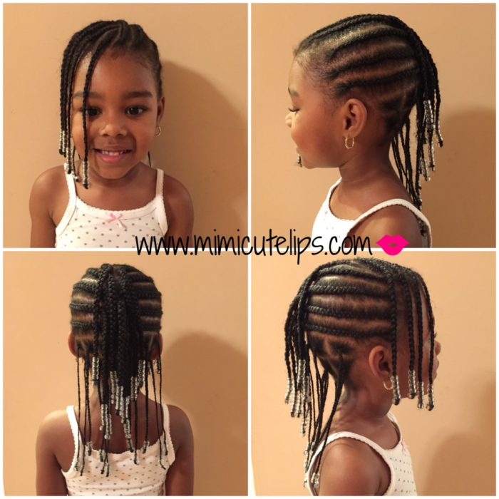 Peachy Natural Hairstyles For Kids Vol Ii Mimicutelips Short Hairstyles For Black Women Fulllsitofus