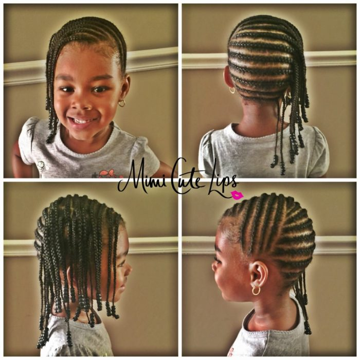 Natural hairstyles kids