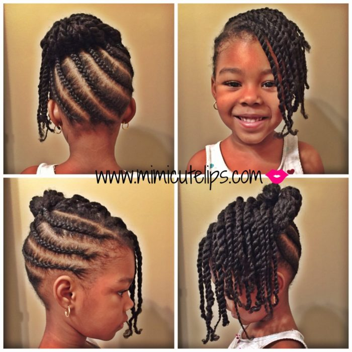natural hairstyles for kids 8