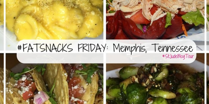 #FATSNACKS FRIDAY- Memphis, Tennessee #StJudeBlogTour