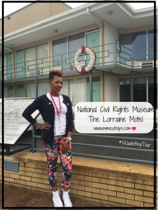 National Civil Rights Museum - The Lorraine Motel #StJudeBlogTour