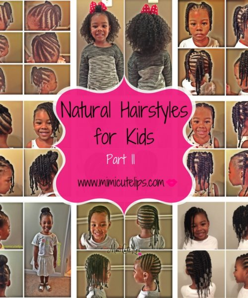 Natural Hairstyles for Kids Part II