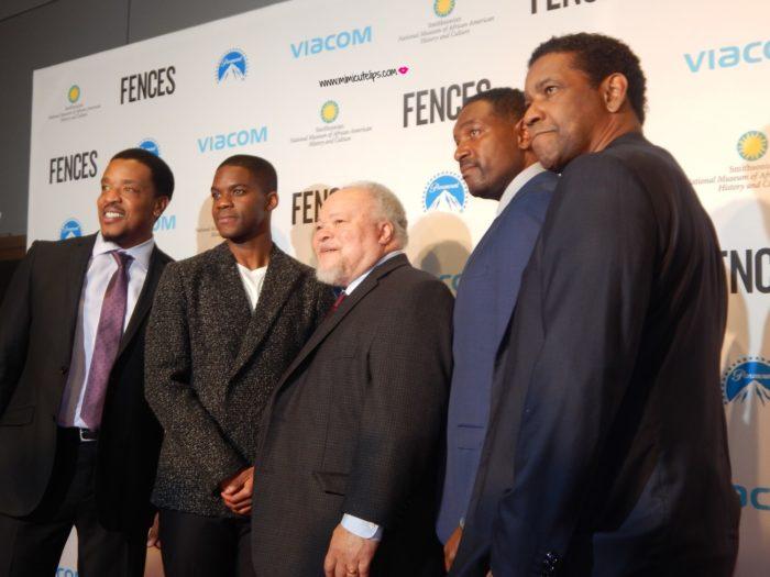 Denzel Washington Fences