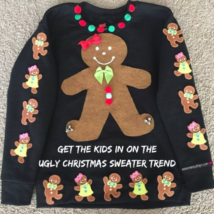Get the kids in on the Ugly Christmas Sweater Trend