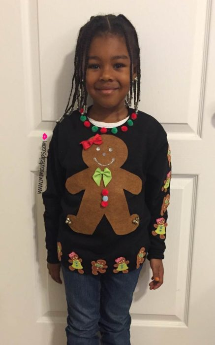 Get the kids in on the Ugly Christmas Sweater Trend - MimiCuteLips