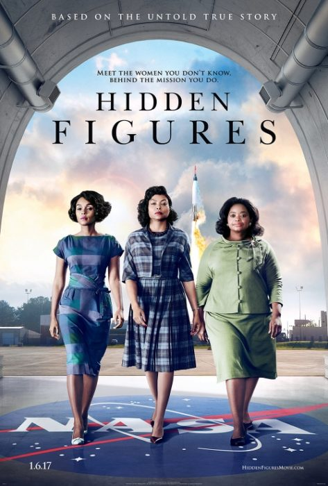 after the women's march Hidden Figures