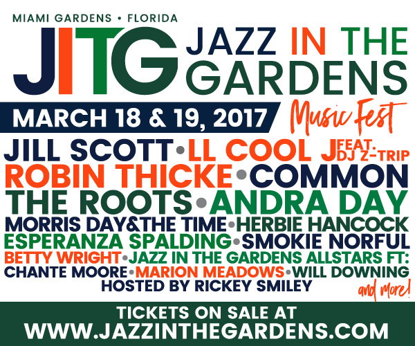 Jazz In The Gardens 2017