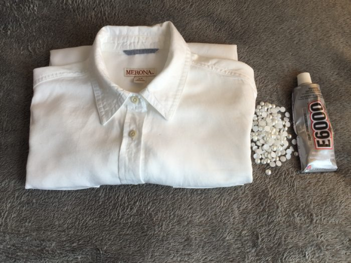DIY Pearl Shirt