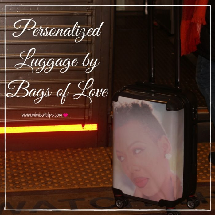Personalized luggage Bags of Love