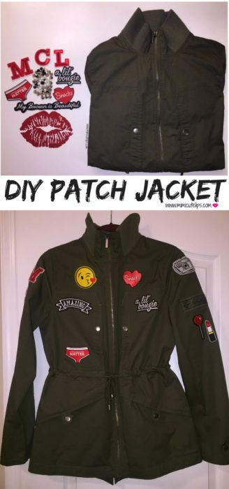 DIY Patch Jacket