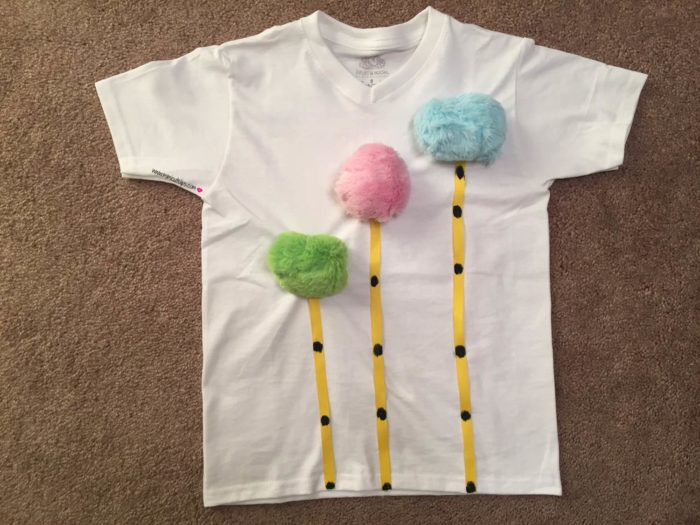 DIY Truffula Tree Shirt