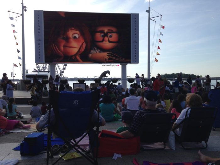 Movies on the Potomac family activities in dc