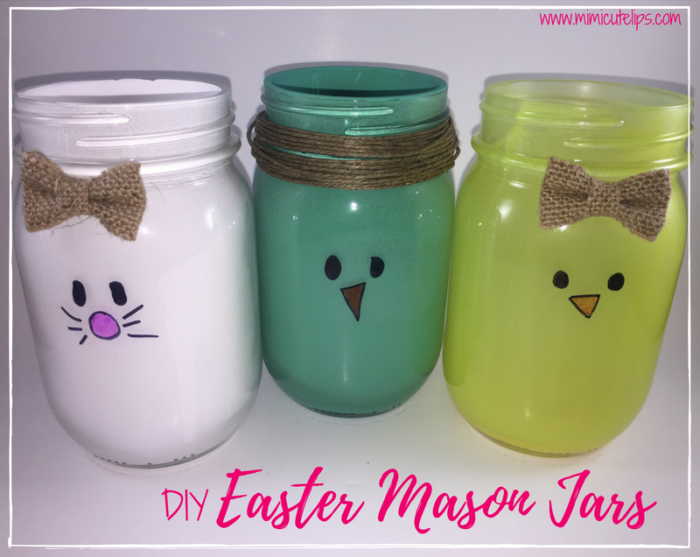 DIY Easter Mason Jars