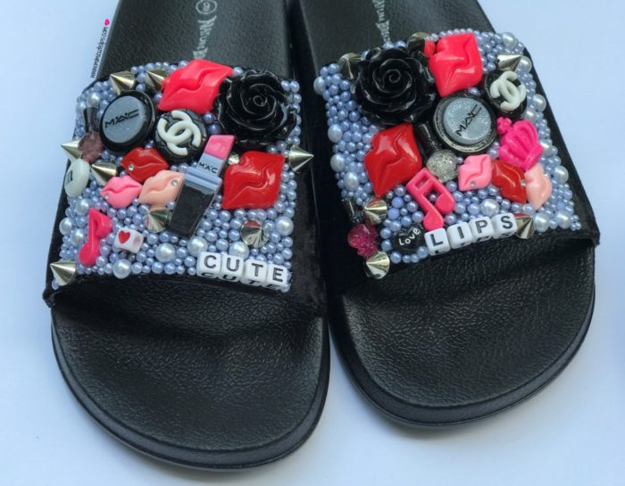DIY Slides Shoes