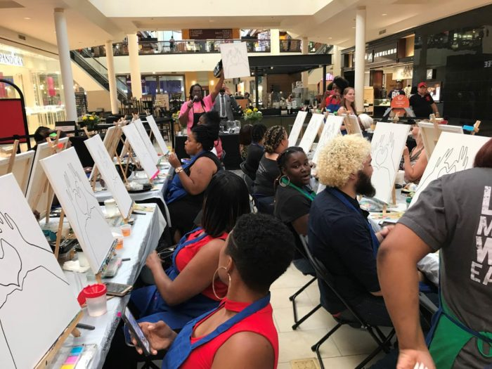 Kreative Crafts Paint Party - St. Charles Town Center paint nite