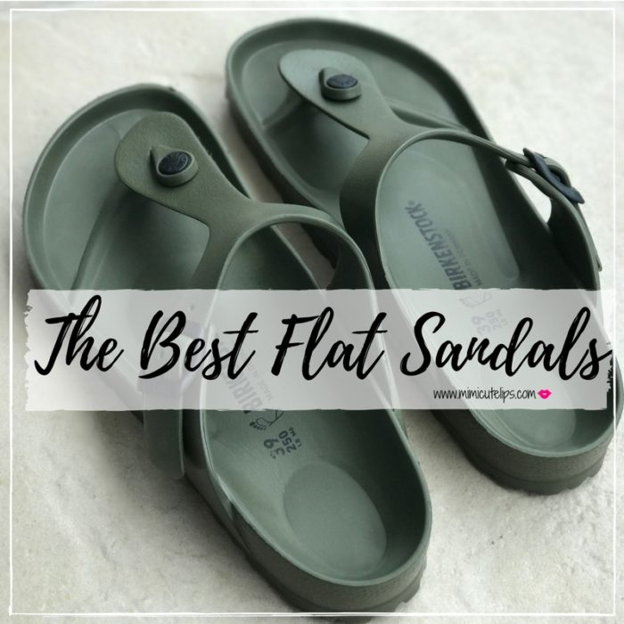 the best flat sandals