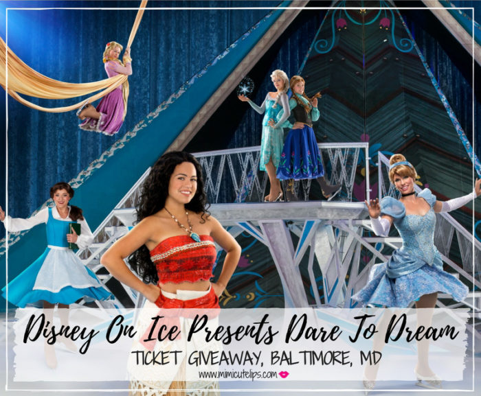 Disney On Ice Presents Dare to Dream Cover