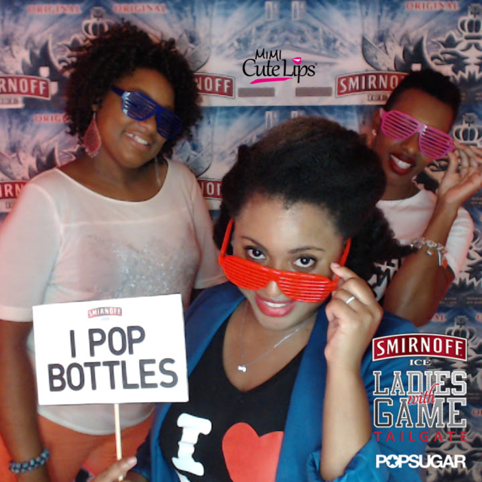 Pop Sugar Ladies With Game Tailgate Keshia Knight Pulliam