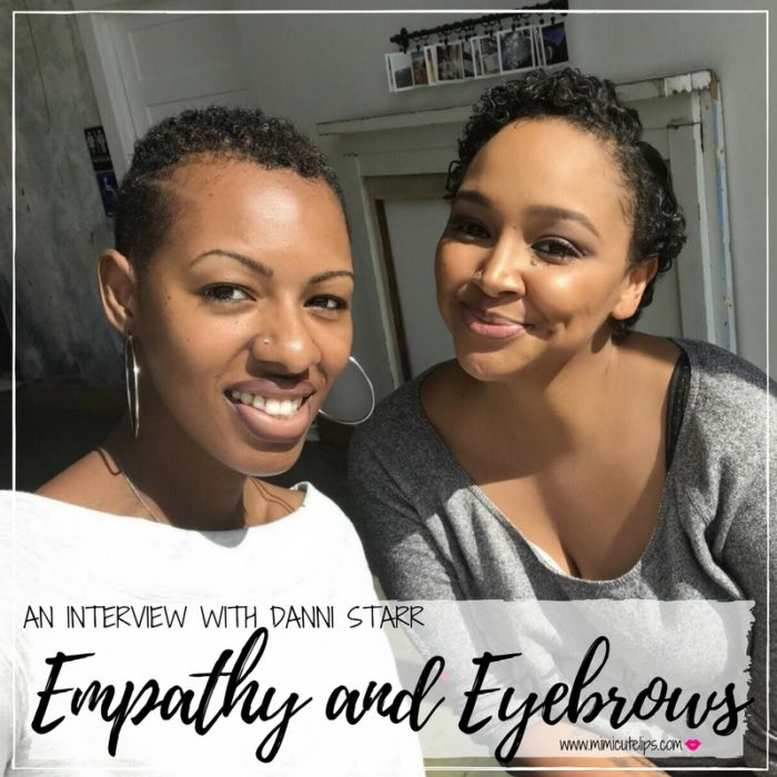 Lifestyle Media Correspondent MimiCuteLips chats with Danni Starr about her new book Empathy and Eyebrows. Empathy Eyebrows Danni Starr