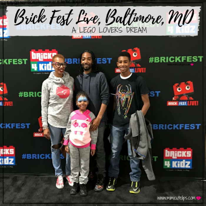 Lifestyle Media Correspondent MimiCuteLips had the Brick Fest Live experience with her family in Baltimore, Maryland for the first time. #BrickFestLive #ad