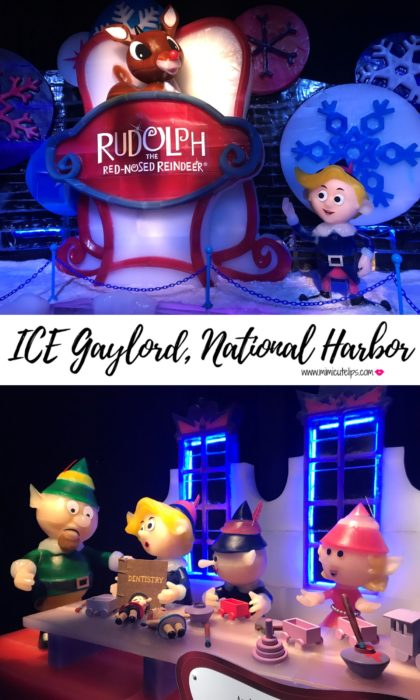 Lifestyle Media Correspondent MimiCuteLips shares the ICE Gaylord National Harbor holiday tale Rudolph the Red-Nosed Reindeer. It includes two million pounds of ice. #GaylordICE