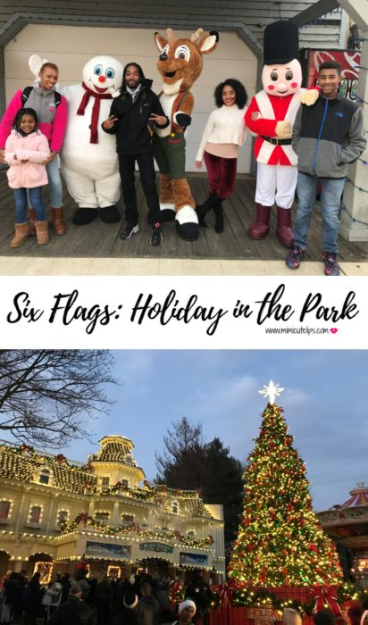 Lifestyle Media Correspondent MimiCuteLips shares her family experience at the Six Flags, Holiday in the Park at Six Flags in Bowie, MD. #Holidayinthepark